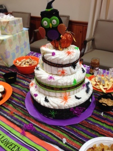 The diaper cake sage made. I just love it!